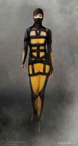 GI Joe Retaliation concept art - Jinx