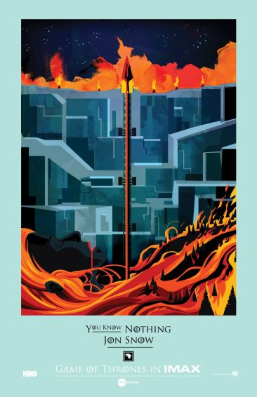 Game of Thrones IMAX poster 1