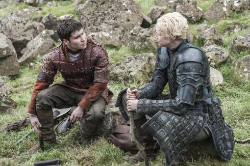 Game of Thrones Season 5 - Pod and Brienne