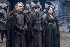 Game of Thrones Season 5 - Roose Bolton, Ramsay Bolton, and Walda Frey