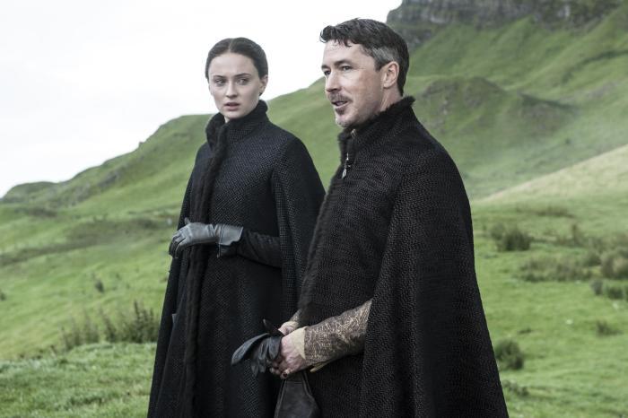 Game of Thrones Season 5 - Sansa and Littlefinger