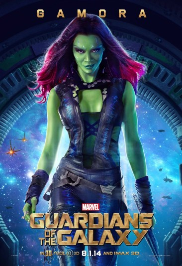 Gamora Guardians Galaxy