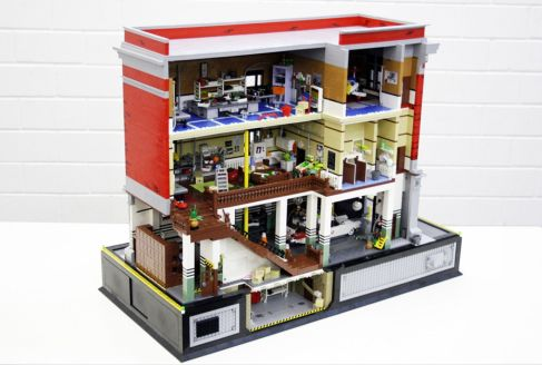 Ghostbusters HQ Lego 1