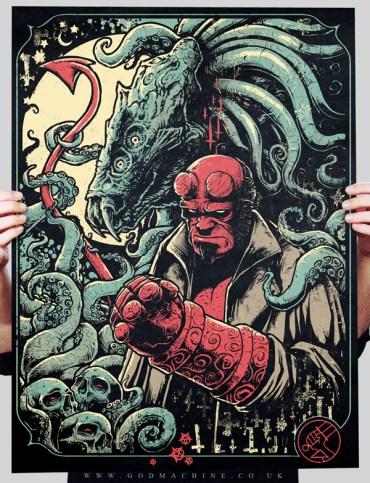 Godmachine - Hellboy