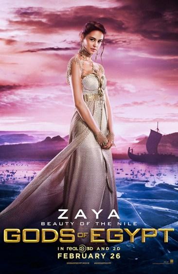 Gods of Egypt - Courtney Eaton as Zaya