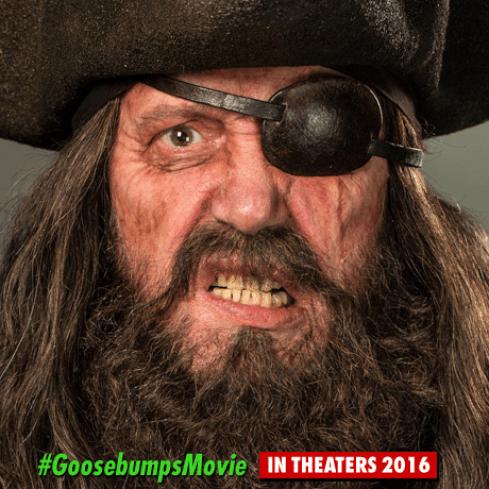 Goosebumps - pirate