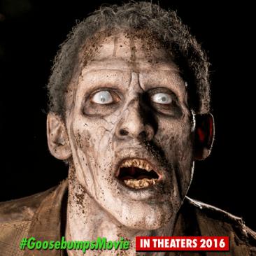 Goosebumps - zombie