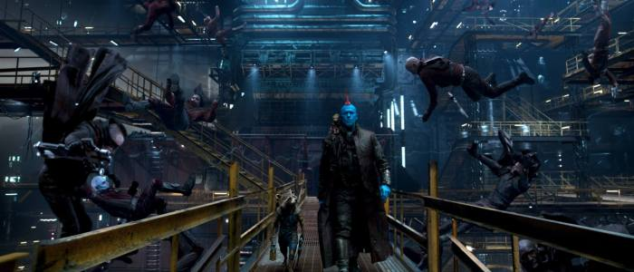 Guardians of the Galaxy Vol. 2 images - Star-Lord (Peter Quill) and Drax (Dave Bautista)