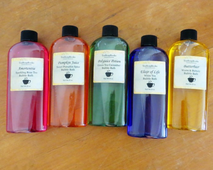 Harry Potter-Themed Bath Soaps