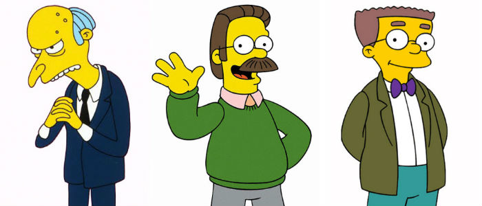 Harry Shearer Simpsons characters