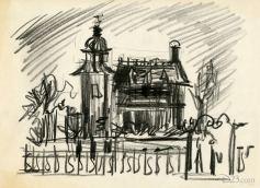 Haunted Mansion concept art 1