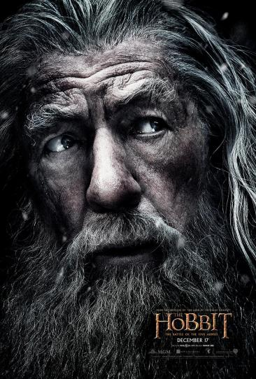 Hobbit 3 Gandalf poster