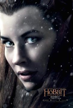Hobbit Battle of Five Armies Tauriel poster