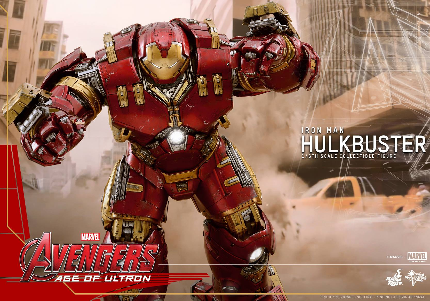 Cool Stuff: Hot Toys Hulkbuster From Avengers: Age of Ultron