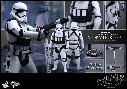 Hot Toys - Star Wars - The Force Awakens - First Order Heavy Gunner Stormtrooper Collectible Figure_PR16