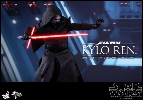 Hot Toys - Star Wars - The Force Awakens - Kylo Ren Collectible Figure_PR7