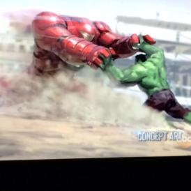 Hulk buster concept art