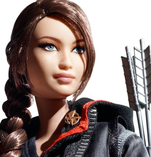 Hunger Games Katniss Barbie 1