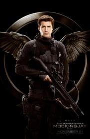 Hunger Games Mockingjay - Liam Hemsworth as Gale