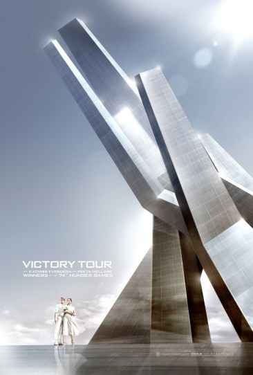 Hunger Games Victory Tour poster