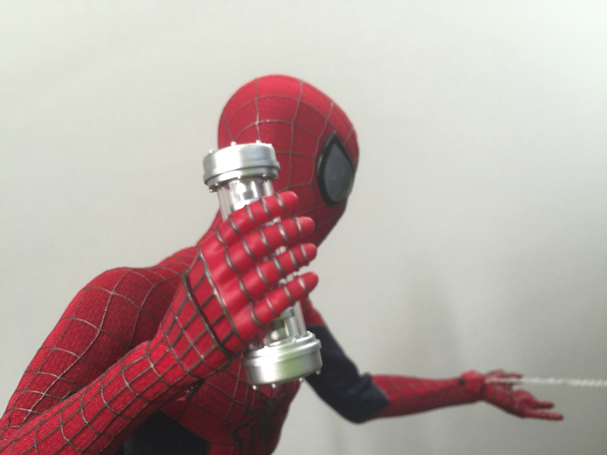 Coolest Man Toys : Cool stuff hot toys the amazing spider man sixth scale