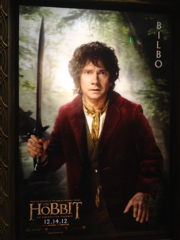 Hobbit Posters at Comic Con