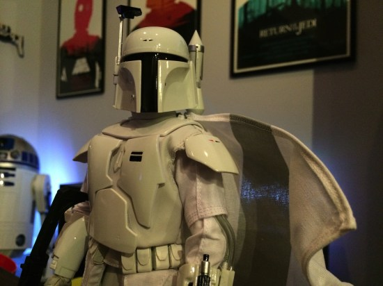 Sideshow Collectibles' 'Star Wars' Boba Fett Prototype Armor Sixth Scale Figure