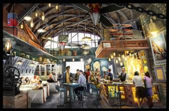 Indiana Jones Restaurant 1