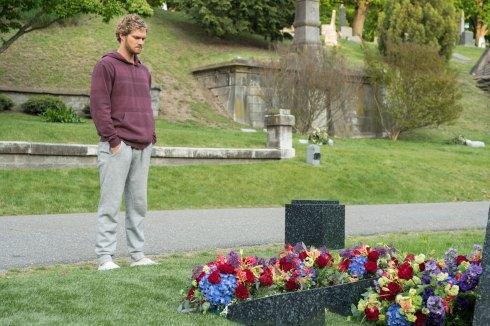 Iron Fist - Danny Rand (Finn Jones) at grave