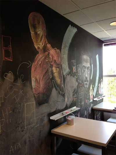 Iron Man Chalkboard