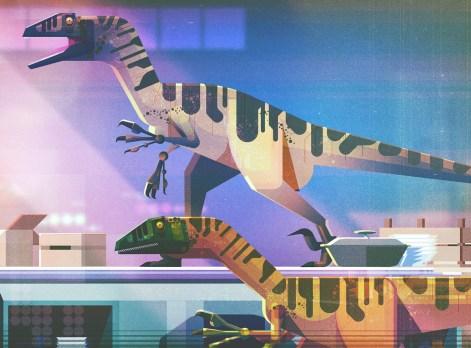 James Gilleard - Jurassic Park