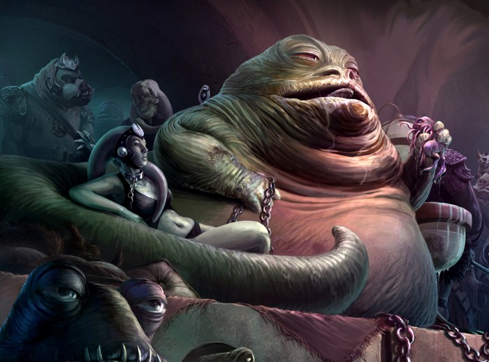 Guillermo del Toro Star Wars idea: Jabba The Hutt
