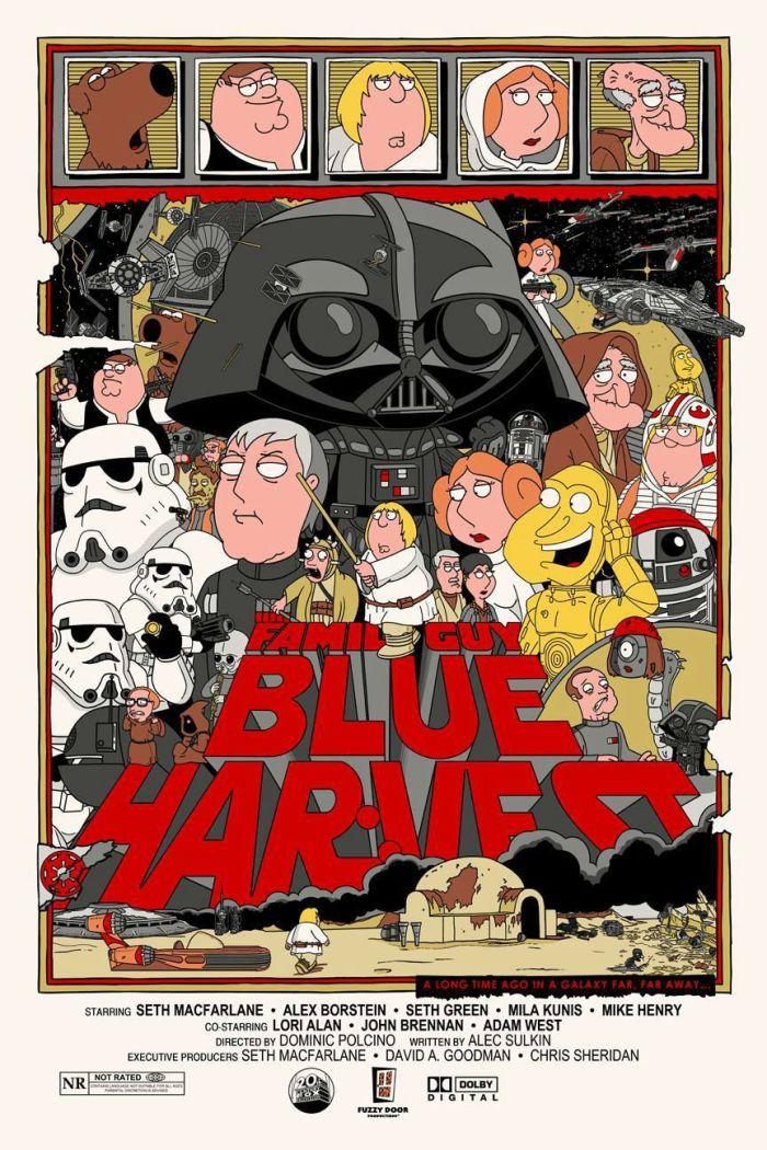 Jacob Bills Star Wars Blue Harvest