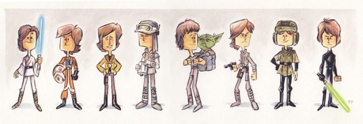 Jeff Victor - Luke Skywalker