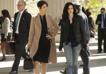Jessica Jones - Carrie-Anne Moss as Harper