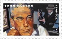John Huston USPS Stamp