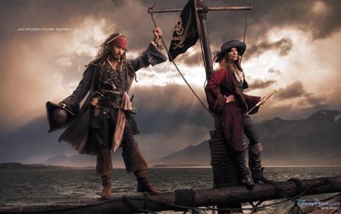 Johnny Depp and Patti Smith Disney Dream Portrait