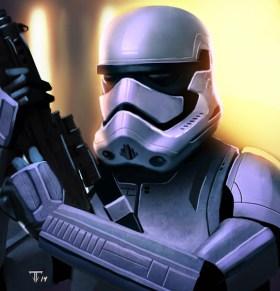 Juan Fernandez Episode VII Stormtrooper 2