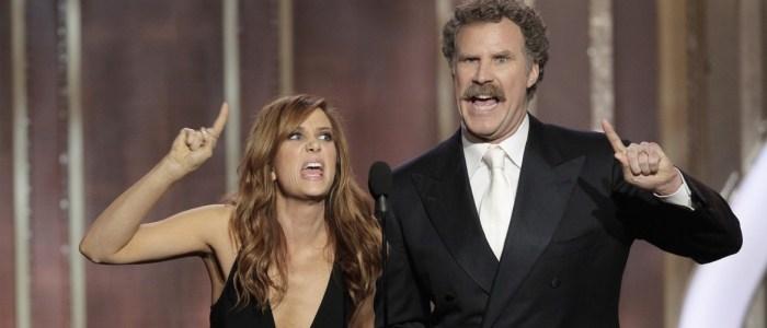 Kristen Wiig and Will Ferrell at 2013 Golden Globes