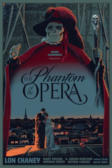 Laurent Durieux - Phantom of the Opera