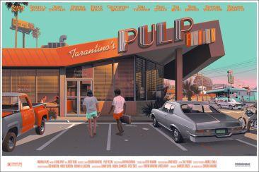 Laurent Durieux Pulp Fiction Variant