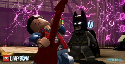 Lego Dimensions Back to the Future Batman