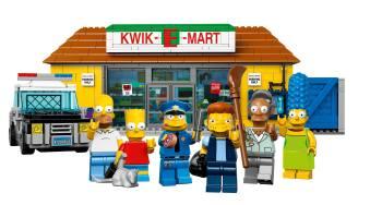 Lego Simpson Kwik E Mart 2