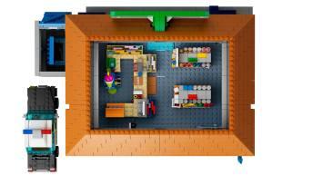 Lego Simpson Kwik E Mart 8