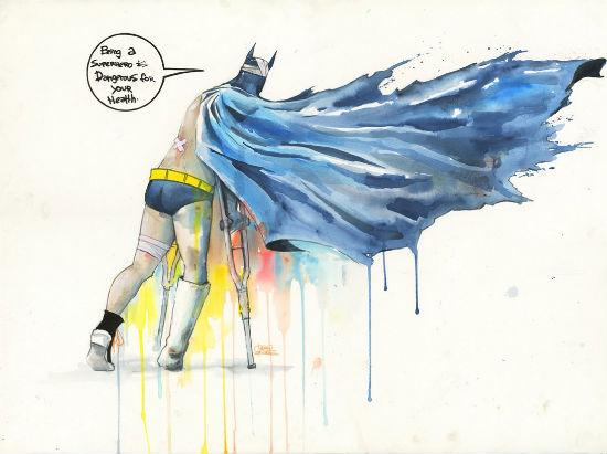 Lora Zombie - Damaged Batman