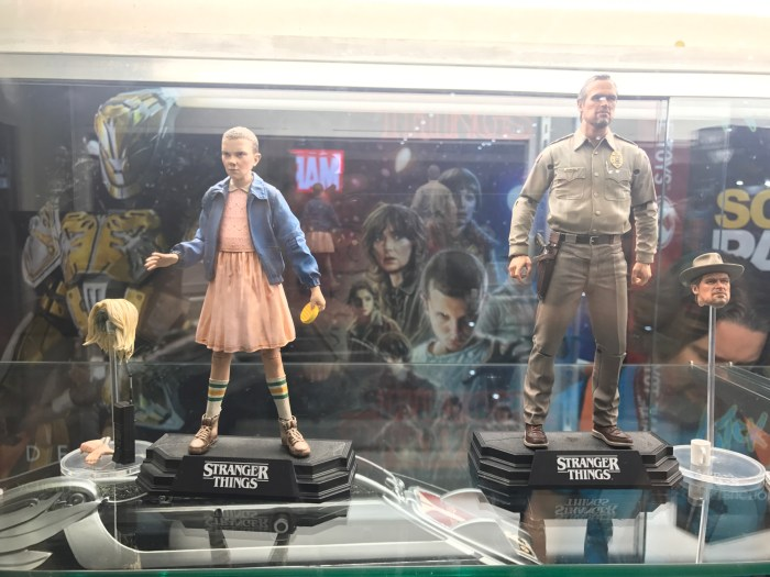Macfarlane Toys' Stranger Things articulated action figures