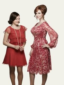 Mad Men Season 7 - Peggy and Joan