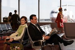 Mad Men final season images - Peggy Olson and Don Draper