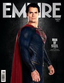Man of Steel - Empire Magazine cover