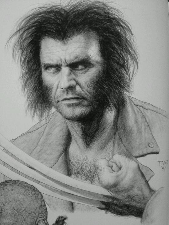 Mel Gibson Wolverine